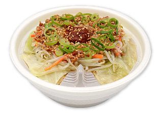 セブンイレブンにて新商品 辛味噌を溶いて食べる野菜盛り味噌ラーメン発売